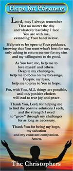 The Christophers Online Shop - Prayer Cards